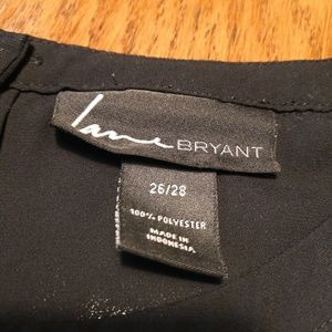 Lane Bryant Tops - Lane Bryant Houndstooth Short Sleeve Blouse 26/28